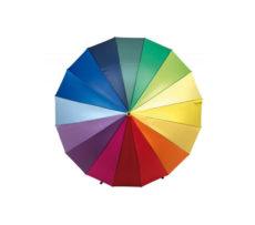 parasol reklamowy 16 paneli wielokolorowy