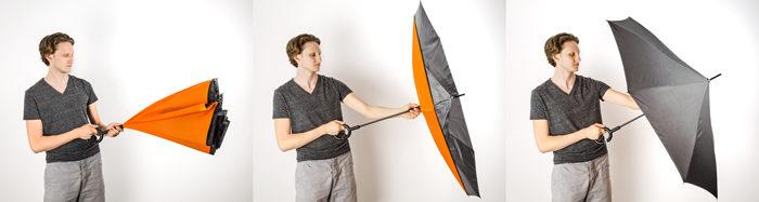 sposob zamykania parasola
