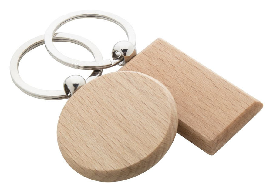 breloki drewniane owalny i prostokatny
