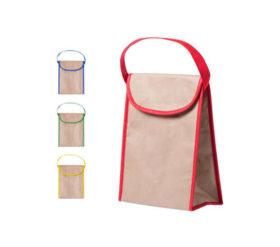 termiczna torba reklamowa kolor czerwony
