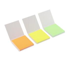 bloczki z karteczkami elektrostatycznymi samoprzylepnymi